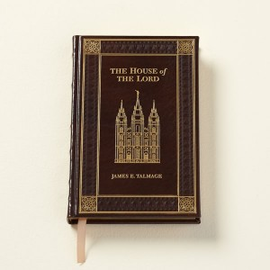 "A limited edition of ""The House of the Lord"" by James E. Talmage is available with an Italian leather binding. (Photo courtesy store.lds.org.)"