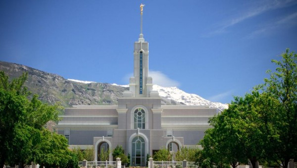 The Mount Timpanogos Temple was dedicated on