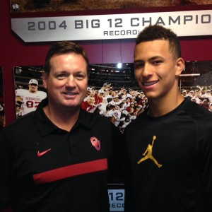 Chaz Ah You is being recruited by numerous Big 12 schools including Oklahoma and head coach Bob Stoops.