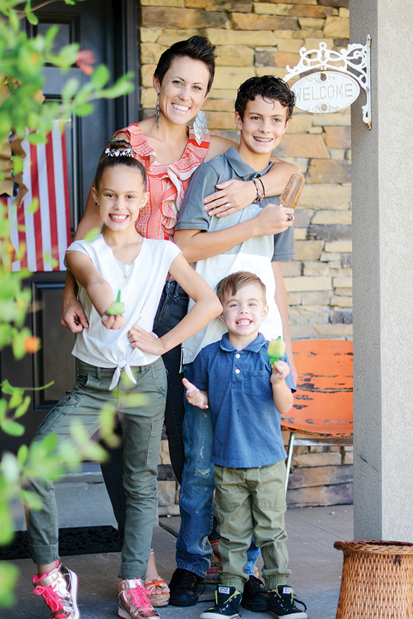 Gina Crotts grew up in Highland and now lives in Spanish Fork with her husband, Brandon, and their three children who keep her busy running from baseball games to dance practice all day long.