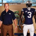 Teams captain: BYU AD Tom Holmoe is a good sport