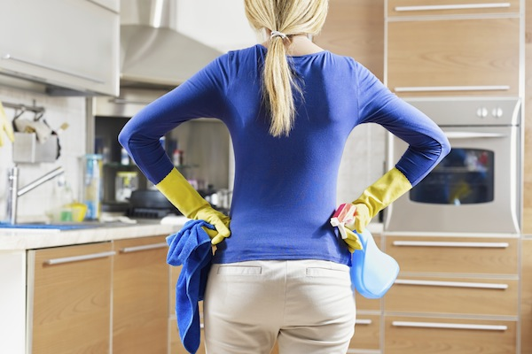 Make cleaning easier with these housecleaning hacks. (Stock Photo)