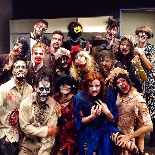 "Odyssey Dance Theatre's ""Thriller"" is nothing like Michael Jackson's hit music video. The Halloween haunt turned to a comedic dance show is now at Provo's Covey Center for the Arts. (Photo courtesy Facebook)"