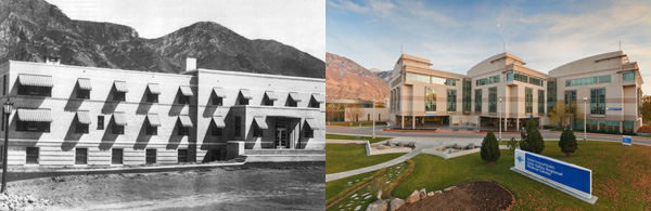 Utah Valley Regional Medical Center opened its doors in 1939. Now 75 years later, the hospital continues to grow. On Saturday, they are hosting a Community Fall Fair to celebrate their 75th anniversary. (Photo courtesy UVRMC)