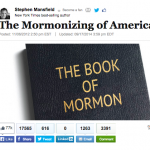 10 recent articles that applaud Mormonism