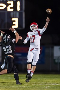 Junior signal-caller Tanner Smith has passed for 2,511 passing yards and 14 touchdowns this season.