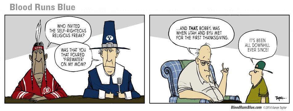 BYU vs Utah - First Thanksgiving - UtahValley360