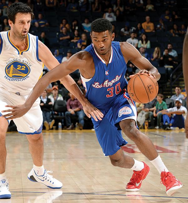 CJ Wilcox (Photo courtesy Los Angeles Clippers)
