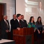 Becky Lockhart honored at State of the County address