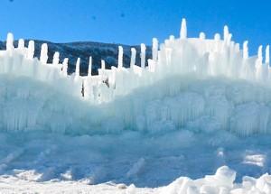 Ice Castle Feature