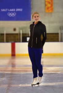 Sarah Lyle, a 17-year-old ice skater from Payson, trains at the Peaks Ice Arena in Provo. The Peaks will always have the 2002 Winter Olympics as its claim to fame.