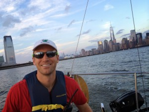 After moving to Manhattan, James Kissell embraced his love for sailing. Watching the sun set from a sailboat on the Hudson River is one of Kissell's New York highlights.