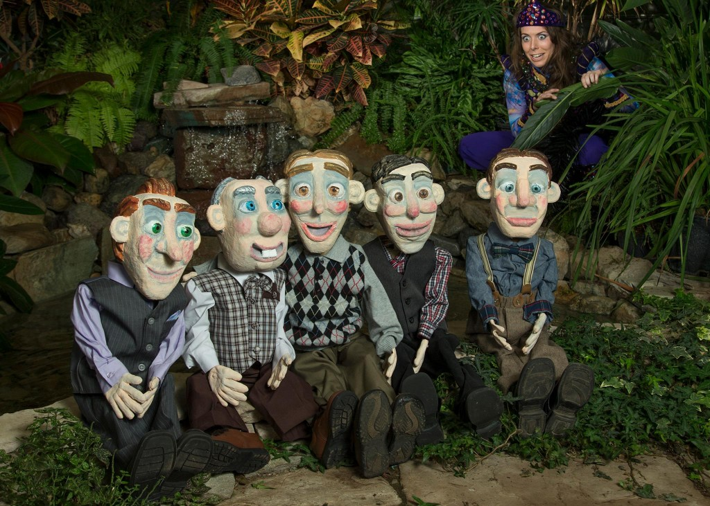 """The BYU Young Company will perform a puppet show of Shakespeare's """"A Midsummer Night's Dream"""" at the SCERA. (Photo by Mark Philbrick)"""