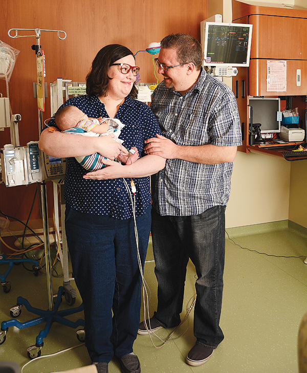 Alisha and Adam Morgan waited nine years — plus five NICU months — to bring Lucy to their home in Orem.