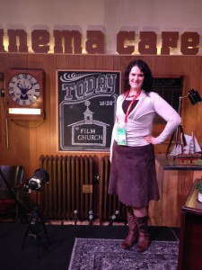 "UtahValley360.com contributor Christa Woodall attended ""Film Church"" on the closing day of Sundance Film Festival 2015—and said it was the least religious church she'd ever seen. (Photo courtesy of Christa Woodall)"