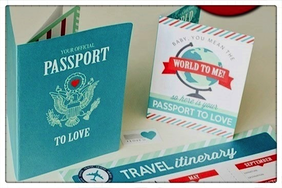 The Passport to Love gives each couple a passport to share. The passport is used to participate in Utah Marriage Commission's date nights and get discounts at participating businesses. Couples take pictures at date nights to stick in their passport like a photo album. (Photo courtesy Cassanda Southam)
