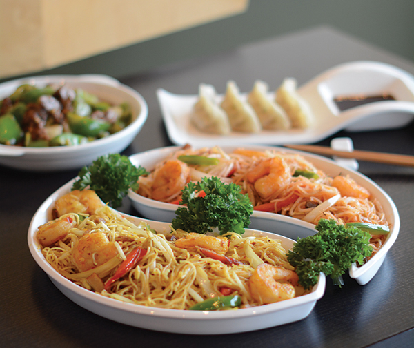 A highlight of the TemptAsian menu is the Singapore Rice Noodle entree. The family serving up Chinese goodness at the American Fork location is originally from Hong Kong.