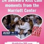 24 awkward Kiss Cam moments from the Marriott Center