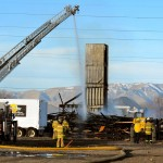 Orem police believe construction fires are being set by a serial arsonist
