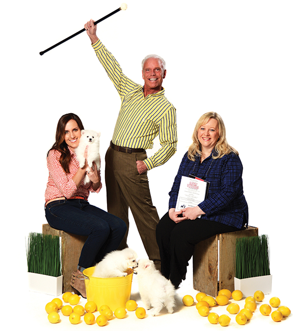 From left to right: Michelle Black, Paul Winkelman and Laura Snyder.