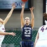 Cardinals' Moore tweets apology to BYU's Morrison for decking her in NCAA Tournament game