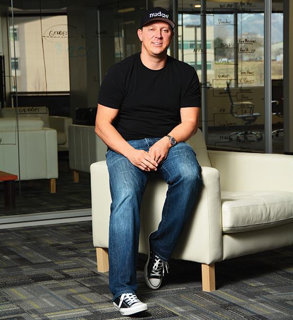 """We sit on the shoulders of giants. A lot of the entrepreneurial spirit in this valley comes from stalwart superstars who've been in the valley 20 or 30 years,"" said RYAN POELMAN, founder of Nudge."