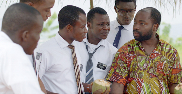 """""""Freetown"""" opens in select theaters on Wednesday, April 8. The actors from left to right: Nyanforh (Clement Amegayie), Forkpah (Great Ejiro), Selli (Bright Dodoo), Gaye (Phillip Michael), Menti (Michael Attram) and Abubakar (Henry Adofo) (Photo by Capacitor Entertainment)"""