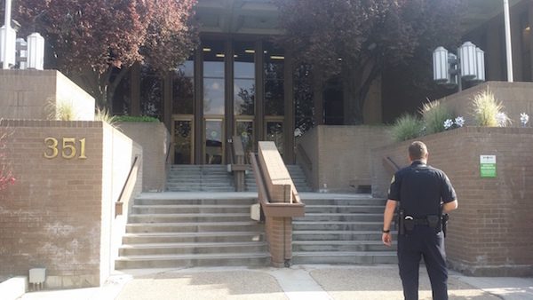 Provo City Center received a bomb threat on Wednesday. (Photo courtesy provomayor.com)