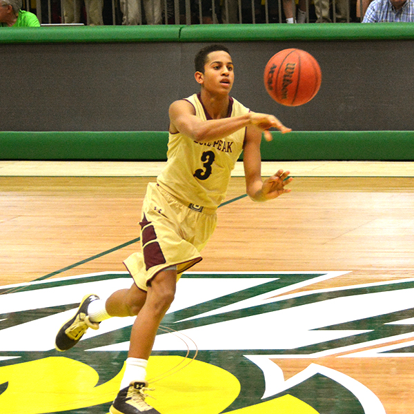 Frank Jackson, who averaged 26.8 points per game during his junior season, says he's still considering playing for BYU. Photo by UtahValley360.com.