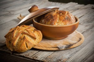 Create perfect artisanal crusts with help from Joe Bennion's bread-baking pots. (Photo courtesy of Beehive Bazaar)