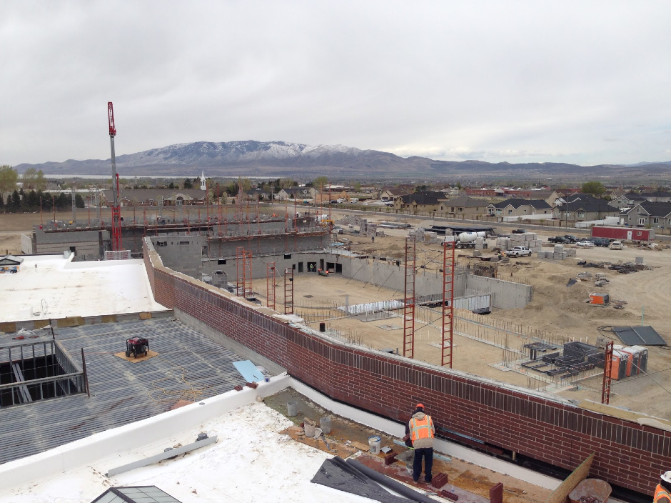 The new high school being built in northeast Lehi will open fall 2016.