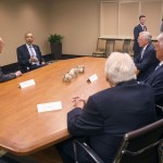 President Obama and LDS Church leaders express gratitude to each other during Utah visit