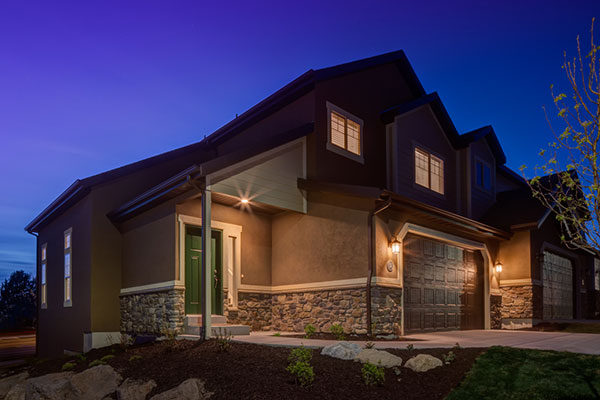 Aspen Summit, a new subdivision in southeast Provo, has spacious townhomes.