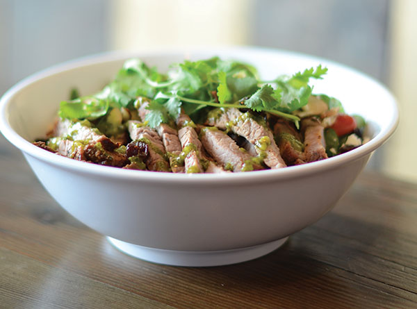 The Tri Tip Steak Salad is one of Cubby's most popular entrees. Voters placed Cubby's — with locations in Provo, Lehi and Spanish Fork — in the top three for casual restaurants.