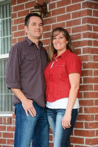 "Todd and Aleesa Hale have lived in three different neighborhoods in Utah County and have been happy in each one. ""We love the not-too-big and not-too-small feeling Payson has,"" Todd says."