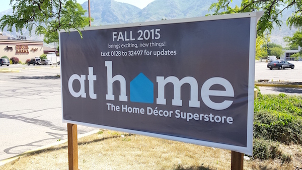 At Home, a furniture decor store, is opening in Fall 2015 where the old Kmart building was in East Bay. (Photo courtesy Provomayor.com)