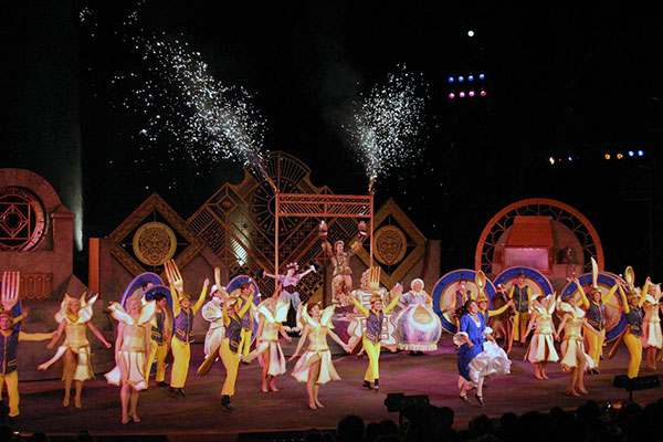 Back by popular demand, Disney's Beauty and the Beast returns to the Tuacahn Ampitheatre through October. (Photo courtesy Tuacahn Center for the Arts)