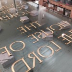 Local artist prepares special window for Mt. Timp temple