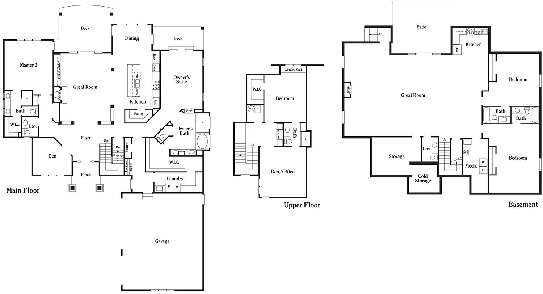 Utah parade of homes floor plans home photo style for Utah home builders floor plans