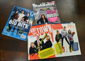 Utah Valley Magazine won three awards, including best magazine, in the 2015 Utah Society of Professional Journalists Awards. Utah Valley BusinessQ won second place in the Best Magazine category. (Photo by Rebecca Lane)