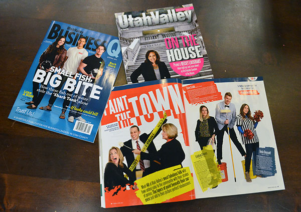 Utah Valley Magazine won three awards, including best magazine, in the 2015 Utah Society of Professional Journalists Awards. Utah Valley BusinessQ won second place in the Best Magazine category. And UtahValley360 won eight awards. See all the 2015 SPJ awards here. (Photo by Rebecca Lane)
