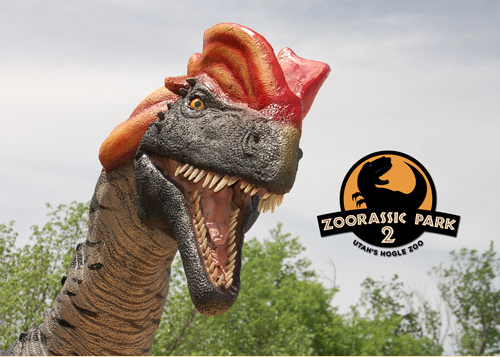 Zoorastic Park is at Hogle Zoo through September 2015. (Photo courtesy Hogle Zoo)