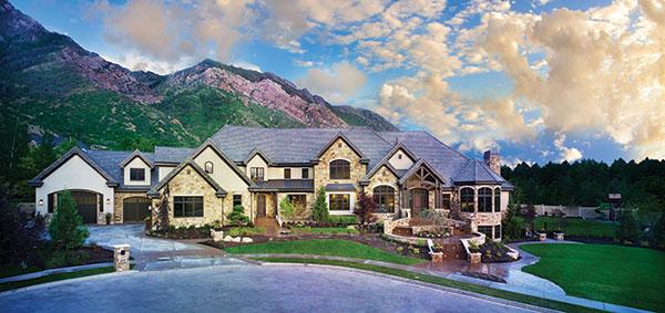 McEwan Custom Homes won both the People's Choice Award and Judge's Choice Award in the 2014 Utah Valley Parade of Homes.