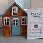 Utah Valley Parade of Homes Playhouse Giveaway