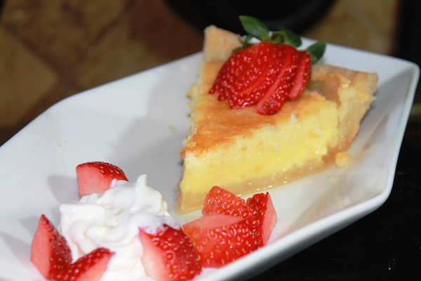"This Buttermilk Pie recipe is from Doug Martin's cookbook, ""Sweet Cast Iron Creations."" (Photo courtesy Doug Martin)"