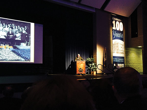 Alpine School District celebrated 100 years as a district in 2015.