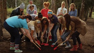 Throughout the film the young women complete tasks together that help them overcome their differences.