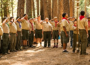 Boy Scouts feature