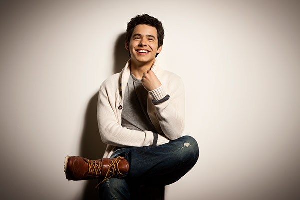 Singer and Utah native David Archuleta will headline the 2015 BYU Homecoming Spectacular. (Photo courtesy BYU)