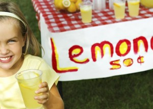 Lemonade Stand feature